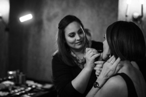makeup artist in action, melbourne makeup artist and hair stylist