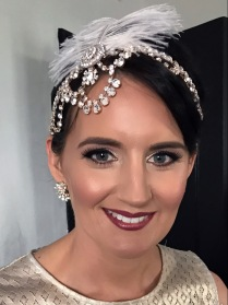 Gatsby Wedding Makeup, makeup and hair by makeup by jacquelyn, melbourne makeup artist