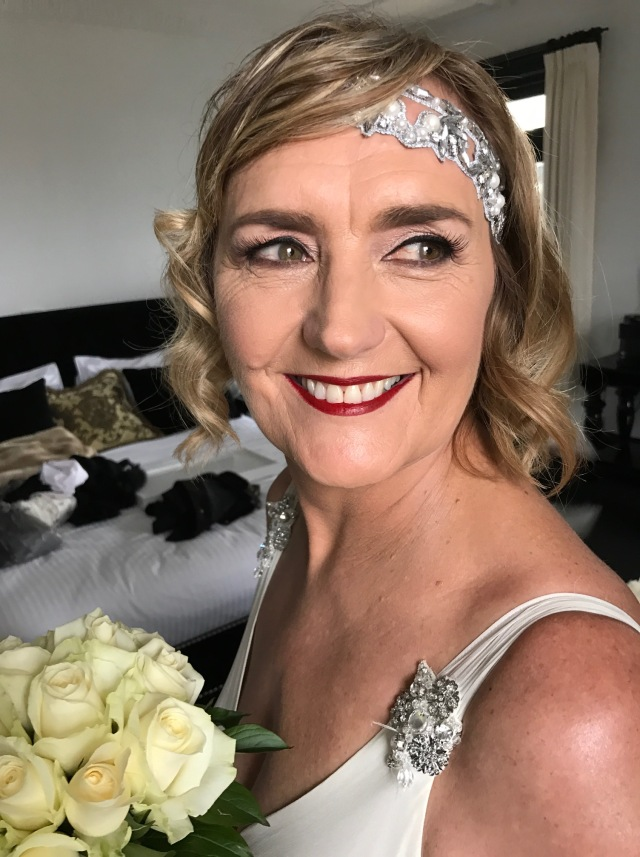 1920's theme bride