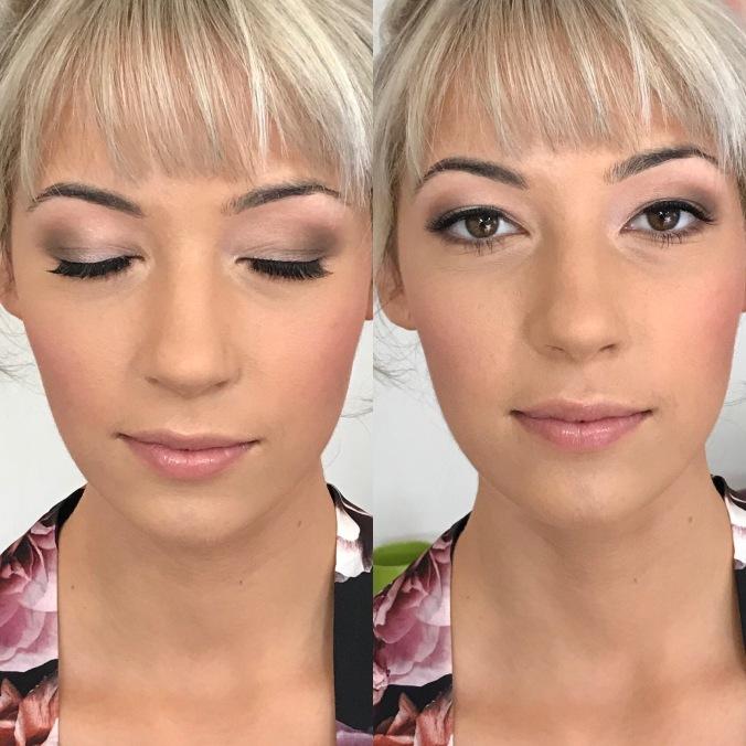 bridal makeup, bridesmaid, Melbourne makeup artist