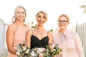 bridal makeup, bridesmaids makeup, melbourne makeup artist